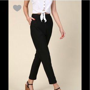 Pants - Elastic waist pocket pants ( LAST ONE )